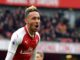 Arsenal's Gabonese striker Pierre-Emeric