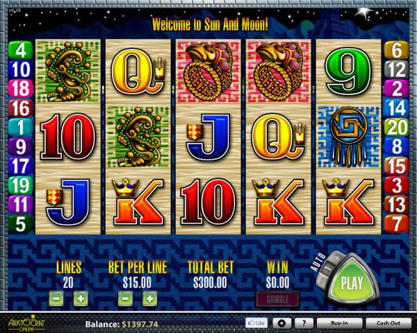 Sun & Moon slot game